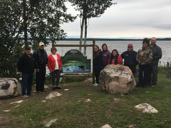 Family At Kamkota Lodge